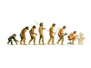 Как человек развивался.