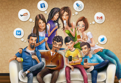 Цена общения в социальных сетях