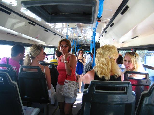 Знакомство в автобусе