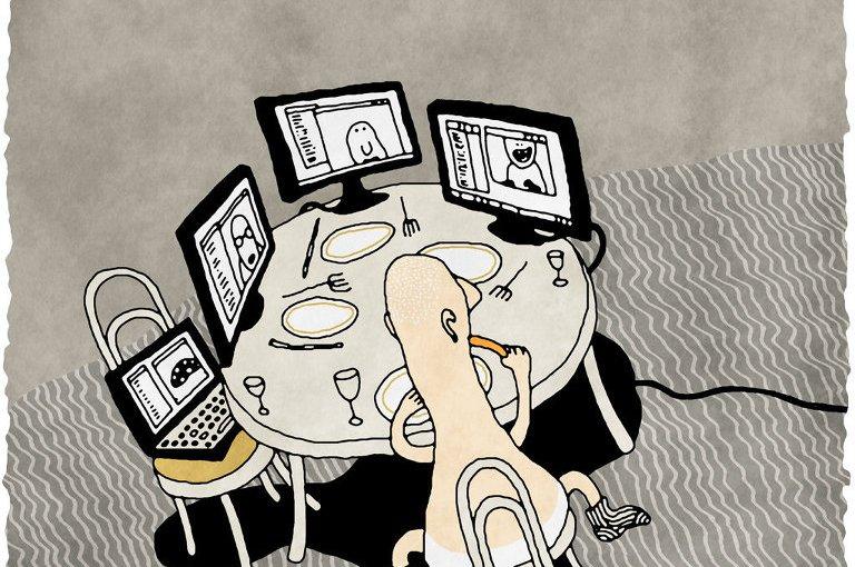 Патологии и отклонения пользователей сетиинтернет