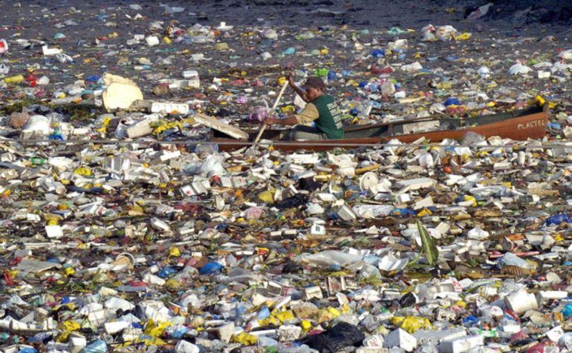 Море мусора