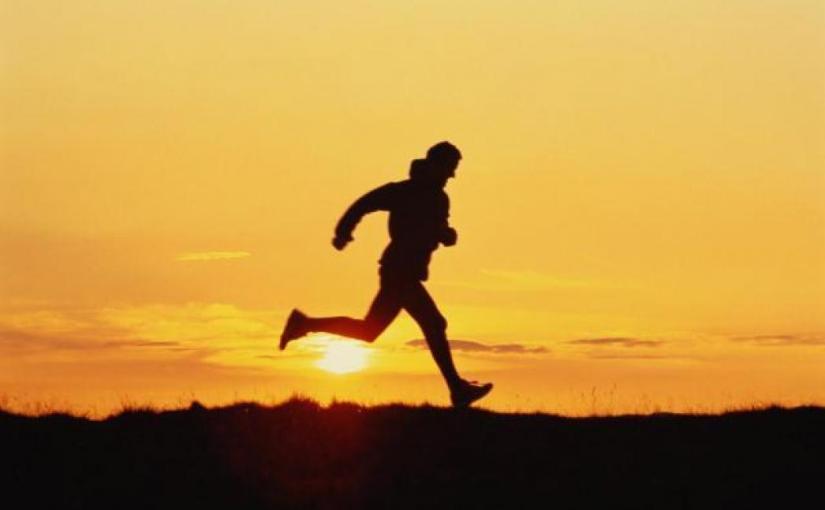 Бег, бежим, первый подход